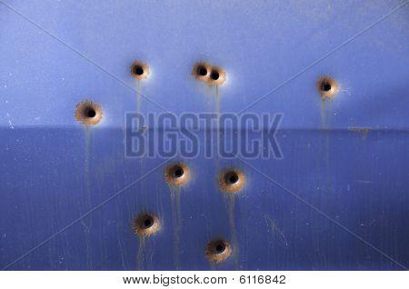 Pontiac Bullet Holes