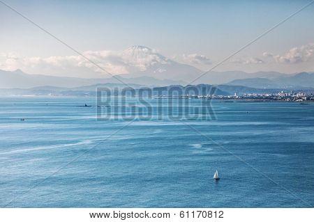 Bayside View Of Tokyo Japan