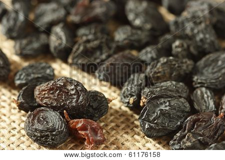 Black Raisins Also Known As Kishmish