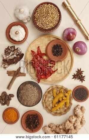 Rajasthani food ingredients