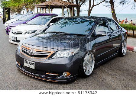 Tuned Car Toyota Corolla Altis
