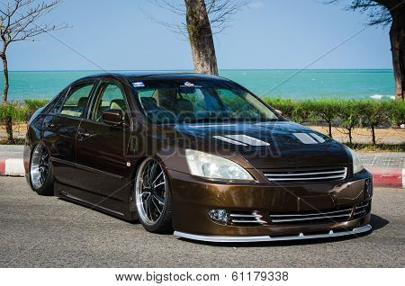 Tuned Car Honda Accord