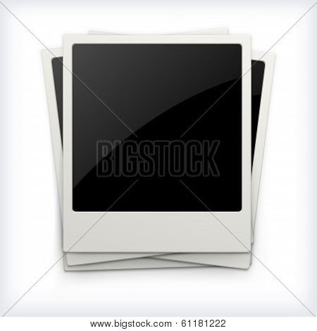 Photo Frames On White Background