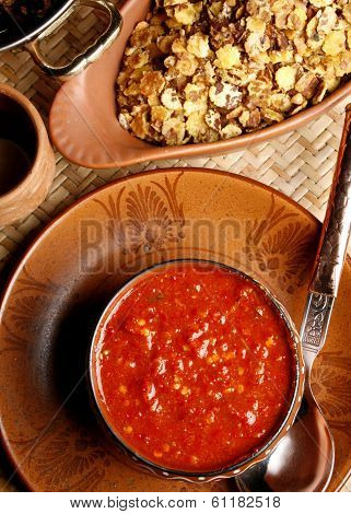 Lahsun Ki Chutney Is Popular Eatables In Rajasthan Especially In Winter Season