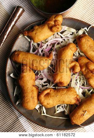 Makki Paneer Pakoda - A Snack From Rajasthan