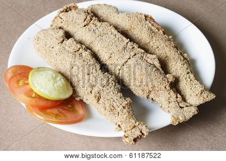 Kane Rava Fish Fry from Mangalore