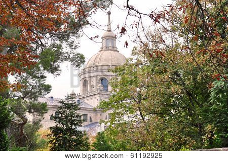 Church El Escorial in Spain