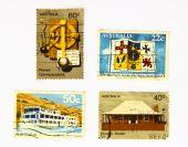 Постер, плакат: Старый искусство марки Австралии нации