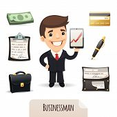 Businessmans Icons Set