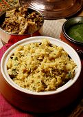 picture of rajasthani  - Vegetable Khichdi  - JPG