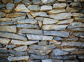 Stone Wall Background.