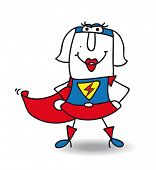 stock photo of superwoman  - Karen is a superwoman - JPG