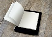 Concept Of Ebook Digital Reader