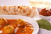 picture of kadai  - Front View of Dum Aloo - JPG