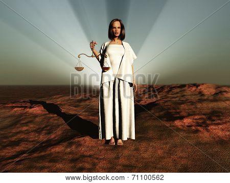 Symbolic representation of the sign of Libra