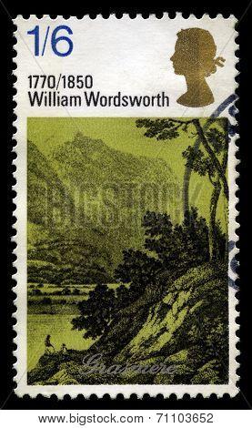 William Wordsworth Uk Postage Stamp
