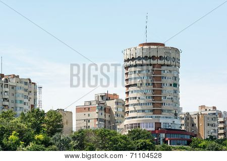 Round Apartment Building