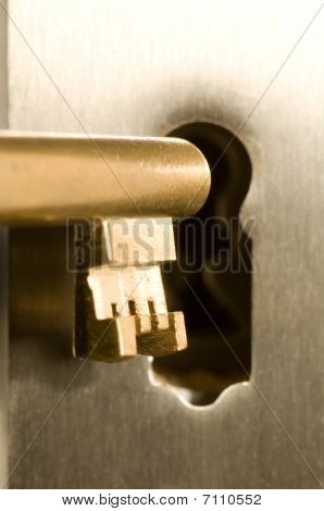 Key In The Keyhole