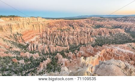 Dawn At Bryce Point, Bryce Canyon National Park, UT