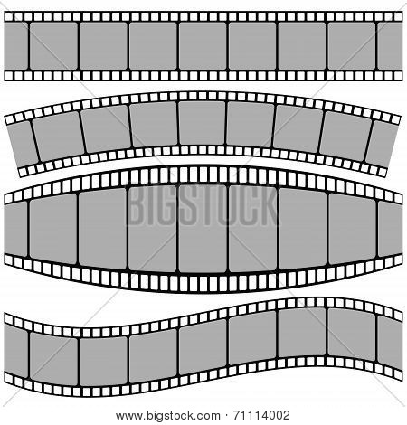 Set Of Film Strip