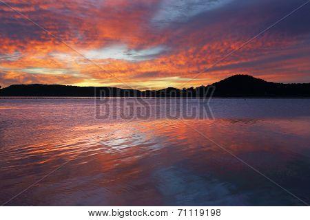 Spectacular Sunrise At Koolewong