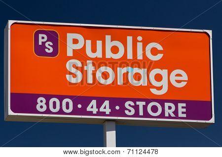 Public Store Sign