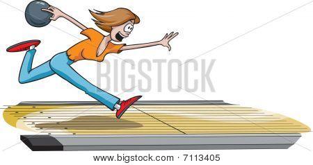 Female bowler 1