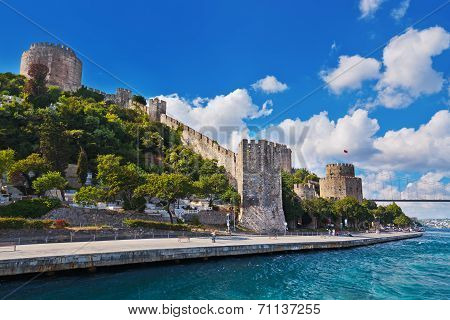 Rumeli Fortress At Istanbul Turkey