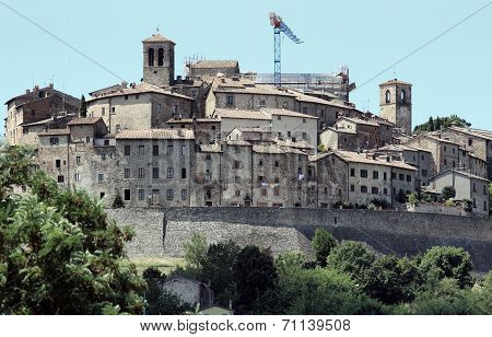 Anghiari Tuscan Town