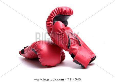 Boxing gloves.