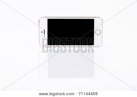 White Mobile Smart Phone