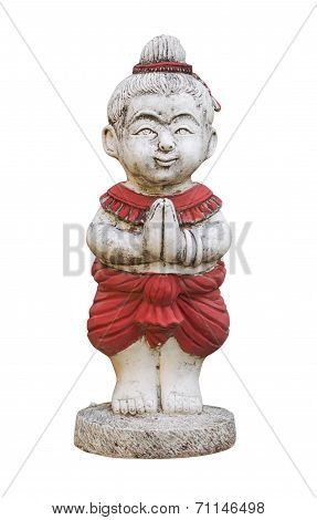 Sawasdee, Welcome Old Plaster Doll