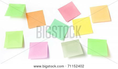 Stick Note Isolated