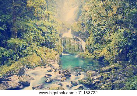 Waterfall New Zealand