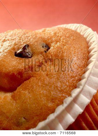 Chocolate Muffin Close-up