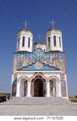 Church In Orthodox Monastery Codru Near Babadag, Romania