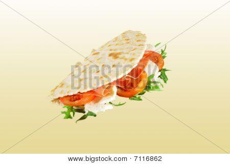 Italian specialty - piadina