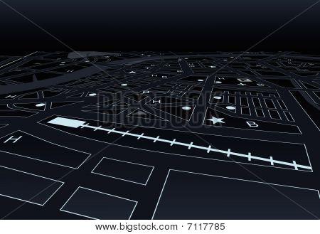 Dark Street Map