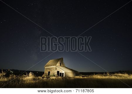 Ranch house in Wyoming
