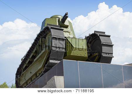 First Russian Soviet Tank