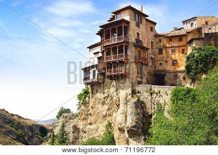 Casas Colgadas. Cuenca, Spain
