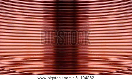 Copper Wire Metal Blackground
