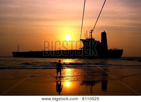 Shipwreck Goa
