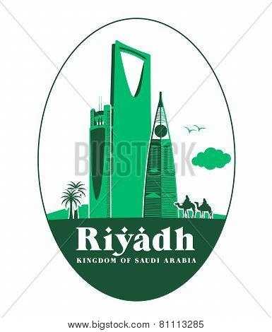 City of Riyadh Saudi Arabia Famous Buildings