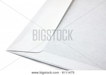 Single Open Envelope Isolated