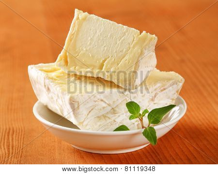 French soft white rind cheese