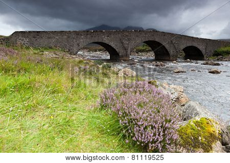 Sligachan River And Old Bridge,