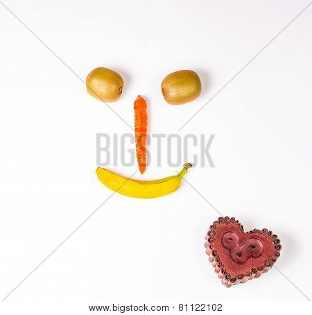 Smiley and heart