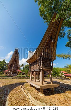 Traditional Toraja Village