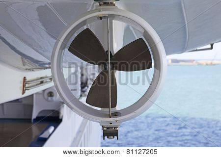 Lifeboat propeller